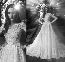 long dress zuhair murad illusion