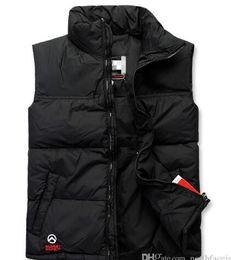Wholesale 2015 HOT New Winter Fashion Women Men Winter Down Vest Outdoor Casual Sports Women Vests Clothing Coats Men Down Outerwear S XXL
