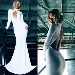 Wholesale burgundy long sleeve prom dresses mermaid train prom dress aqua long dress