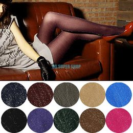 Wholesale EQB365 Sexy Women Silver Glitter Shimmer Shiny Sexy Pantyhose Stockings Skinny Tights