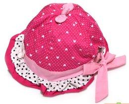 Wholesale Newborn Baby Kids Child Girl Toddler Bucket Topee Sun Cap Hat Sunhat