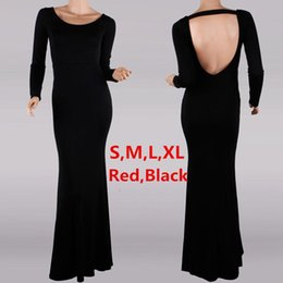 Wholesale 1048 New Fashion Elegant Celebrite O neck Full Sleeve Backless Sexy Party Cocktail Women Casual Holiday BOHO Maxi Long Dresses Size S M L XL