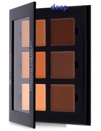 Wholesale Anastasia Contour Cream Kit color face contouring highlighting palette basic foundation BB primer makeup free DHL ship