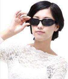 Wholesale Pinhole Eyewear Eyeglass Adjust Vision Heal Myopia Hyperopia Presbyopia Astigmatism Cataracts Eye Strain Health Glass