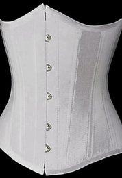 Wholesale Women Sport latex waist Trainer Cincher Steel Boned corset Body Shaper Shapewear