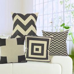 2017 black cotton sofa set black and white sofa couch car office deco set cotton linen black sofa set office