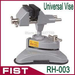 Wholesale Small vise aluminum table vise RH Upscale movable table vise can be rotated degrees mini upscale vise