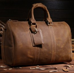 Discount Mens Leather Duffle Bag Vintage | 2017 Mens Leather ...