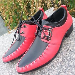 Wholesale high quality Double color stitching Wedding Leather shoes prom shoes Dress shoes