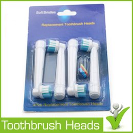 Wholesale Replacement Toothbrush Heads for electric toothbrushes Soft Bristle SB A toothbrush heads US Dupont Tynes bristle