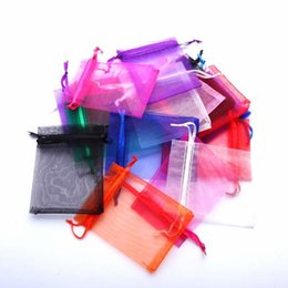 Wholesale 30pcs Drawable Organza Bags x12cm Wedding Gift Bags Jewelry Packing Bags Wedding Pouches