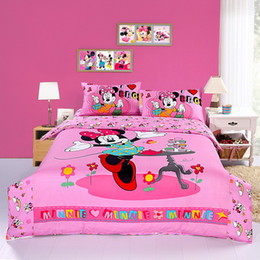 Discount Queen Size Minnie Mouse Comforter Set | 2017 Queen Size ...