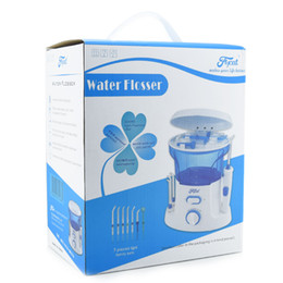 MOQ: 1PCS Главная Упаковка Стоматологическая воды Flosser 600мл Оральные зубов Уход Очистка ирригатор для полости рта с Резервуар для воды и советы