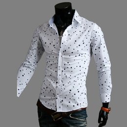 Discount Polka Dot Print Shirt Designs | 2017 Polka Dot Print ...