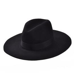 Huge savings for Felt Hats For Ladies. 1 3. Wholesale-Fashion Vintage Lady  Girls Wide Brim Wool Felt Fedora Hat ... f2f31bece7c3
