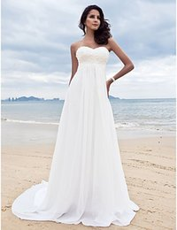 Wholesale 2015 beach wedding white minimalist retro sexy lace lace Hot new wedding dress trailing Greek goddess dress sexy strapless evening dre