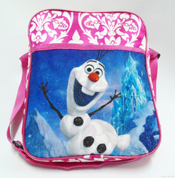 Wholesale 2015 Frozen The newest baby girl boy cartoon schoolbag children travel backpack shoulder bag The