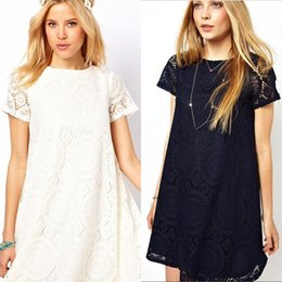 Wholesale European Designers Style Lace Hollow Out Maternity Dress Summer Short sleeve Dresses Pregnancy Clothes for Pregnant Women S XL