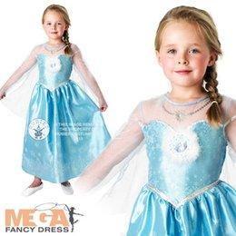Wholesale EMS DHL little girls kids Sky Blue Cute Princess Dance Tulle Dress Cosplay Children Clothes NEW Frozen Dress