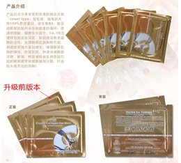 Wholesale Fashion Crystal Collagen Eye Skin Mask Patch Anti wrinkle moisture eye care products