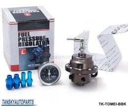 TANSKY- Томей Регулятор давления топлива с оригинальным Черный калибровочных регулируется FPR тип L TK-Томей-BBK есть в наличии