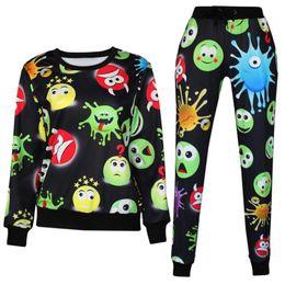 Wholesale New Women Mens Emoji Joggers Harem Pants For Boys Girl Casual D Printed Cartoon Jogger Trousers Pant Outfit Suit Plus Size XL
