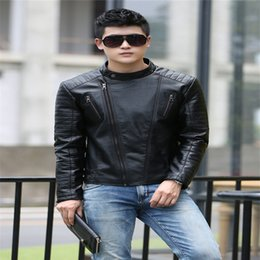 Discount Leather Coats For Short Men   2016 Leather Coats For ...