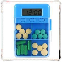 Wholesale Pill cases Cells Mini Pill Storage Box Plastic Cases for Medicine Jewelry Organizers Medication pill box