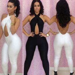Sexy Womens Black Clubwear Jumpsuits Online | Sexy Womens Black ...