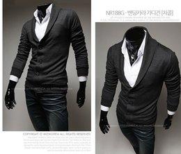 БЕСПЛАТНАЯ ДОСТАВКА 2015Fall Hitz с длинными рукавами трикотажные рубашки мужчина британский ретро моды Тонкий V-образным вырезом кардиган свитер пальто. # CDF