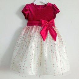 Wholesale Toddy Girl Flower Dress Children Wedding Princess Dresses Dress for T T T