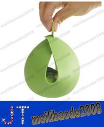 Silicona cuenco de los pescados de vapor Horneado Cuenco Cuenco 2015 Curling Nueva creativo del silicón de cocina multifuncional verde MYY14425 envío libre