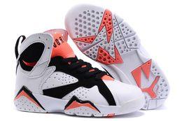 Wholesale 2016 XMAS GIFT Newest Retro AJ7 For Children s Basketball Shoes jordan J7 Retro kids Basketball Shoes Boy girl Sports Sneakers Eur