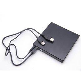 Внешний Тонкий USB 2.0 CD ± RW DVD ± RW механизм Высокоскоростной кассета горелки Компьютер Drive Recorder оптический пишущий привод проигрывателя 24x для планшетов