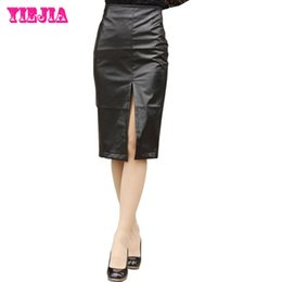 High Waisted Black Leather Skirt Suppliers | Best High Waisted ...