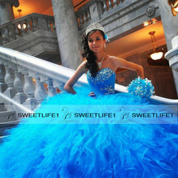 Discount Long Puffy Quinceanera Dresses | 2017 Red Long Puffy ...