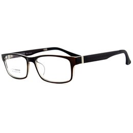 trendy fashion brand new optical rectangle eyeglasses for men women pc frame clear lenses reading glasses