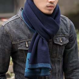 Wholesale 2014 Winter new Korean men and women lovers scarf cashmere knit business long thick scarf wild