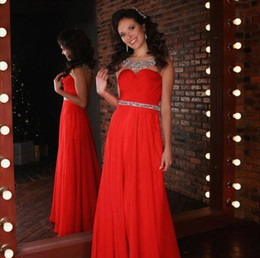 Cheap red dresses for sale online