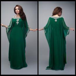 Wholesale 2016 Caftan Long Dubai Muslim Kaftan Abayas Arabic Turkish For sale Evening Robe Abayas for Woman Islamic Clothing