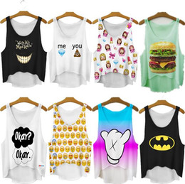Wholesale 2015 New Women T Shirt Summer Women Tops Emoji Girl Print T shirt Women Casual Tee Tops For Women Blusas