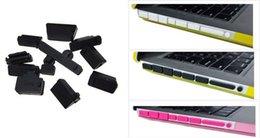 Wholesale New arrival set Universal PC laptop dustproof plug Silicone usb dust plug Anti Dust Plug Cover Set Stoppers