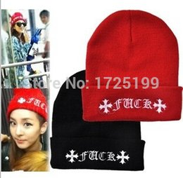 Wholesale Acrylic Fuck Beanies for Man and Woman Fuck Beanies Winter Hat women beanies