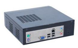 Comercio al por mayor factor de mini chasis tipo itx versión estadounidense de Mini-ITX pequeño chasis plataforma Ion E350 mini HTPC PC del coche Negro 1037U