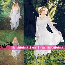 Wholesale Medieval Renaissance Clothing Gothic Fairy Fantasy Cosplay Costume Halloween Corset Wedding Dresses with Bridal Gowns