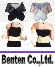 Wholesale hot Health Care Magnetic Slimming Lower Back Support Waist Lumbar Brace Belt Strap Backache Pain Relief LLFA4136F