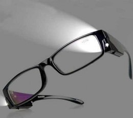 Wholesale Reading Glass Led Reading Glasses with Light assorted colors and power by DHL Fedex