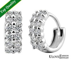 Wholesale Phone Cases Hot Sale Knot Sex Toy Stud Earrings for Women Men Jewelry Piercing Wedding Crystal Studs Earring Unisex Earing New Y043