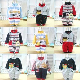 Wholesale 2014 Spring Autumn New Arrival Baby Boys Cotton Suitable one piece Rompers Kids Clothes soft feel cute pictures Newborn Pajamas