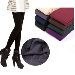 Wholesale 2015 Women leggings tight pants for ladys Solid leggings jeans trousers Trend Knitting warm pant skinny pants for women